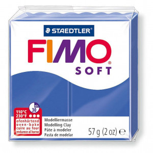Fimo ® Soft 57 g, brilliantblau